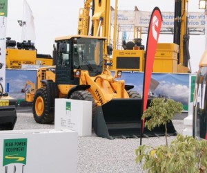 HL730-9 Wheel Loader on display at HPE Africa's stand at Bauma Africa.jpg